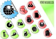 Graphismes de Web. Image libre de droits