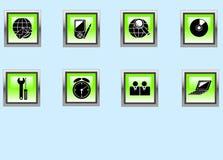 Graphismes de Web. Photographie stock libre de droits