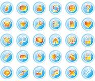 Graphismes de Web Illustration Stock