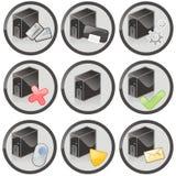 Graphismes de Web Photographie stock