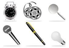 Graphismes de Web Photos stock