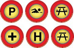 Graphismes de Web Photo stock