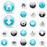 Graphismes de Web, boutons Image stock