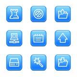 Graphismes de Web de données Photographie stock libre de droits