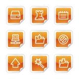 Graphismes de Web de logiciel illustration libre de droits