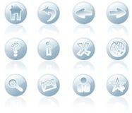 Graphismes de Web et d'Internet Photos stock