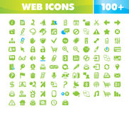 Graphismes de Web et de transmission réglés. illustration stock