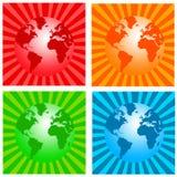 Graphismes du monde illustration stock