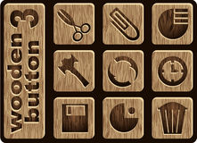 Graphismes en bois Image stock