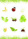 Graphismes environnementaux Photos stock