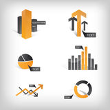 Graphismes graphiques/éléments d'information Photo stock