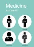 Graphismes médicaux illustration stock