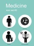 Graphismes médicaux illustration libre de droits