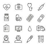 Graphismes médicaux et de soins de santé Photos stock