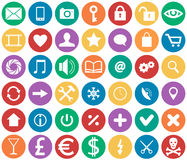 Graphismes pour des apps Image stock