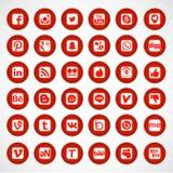 Graphismes sociaux de réseau illustration libre de droits