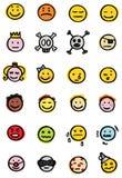 graphismes souriants illustration libre de droits