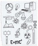 Graphismes une science Illustration de Vecteur