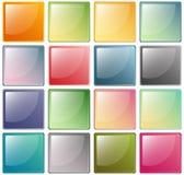 Graphismes vitreux Photo stock