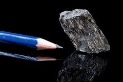 Graphit für Bleistifte Stockfotos