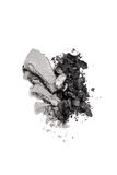Graphite and gray duo eyeshadow crushed Stock Image