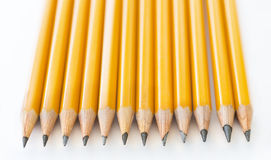 Graphite Pencil Collection Royalty Free Stock Image