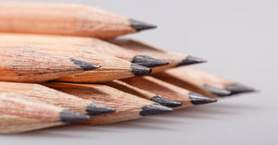 Graphite pencils Stock Images