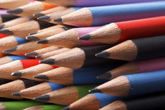 Graphite pencils Royalty Free Stock Image