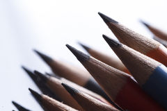 Graphite pencils Royalty Free Stock Photos