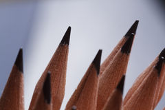 Graphite pencils Stock Image