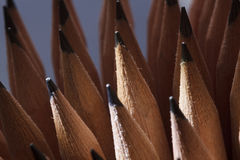 Graphite pencils Stock Photography
