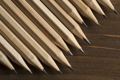 Graphite pencils Royalty Free Stock Images