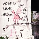 Graphitti à Berlin Images libres de droits