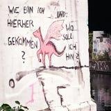 Graphitti in Berlijn royalty-vrije stock afbeeldingen