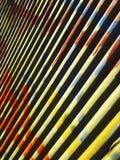 Graphitti su metallo 2 Fotografie Stock Libere da Diritti