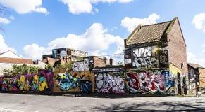 Graphity在布里斯托尔英国 免版税图库摄影