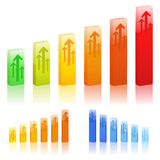 Graphs Royalty Free Stock Photography