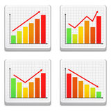 Graphs Stock Photo