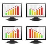 Graphs Royalty Free Stock Photo