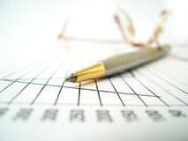 Graphs & Accessories Stock Photography