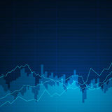 Graphs background. Illustration of an Abstract Background with Graphs Stock Photo