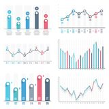 Graphs Royalty Free Stock Image