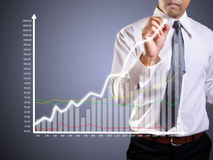 Graphs Stock Photography