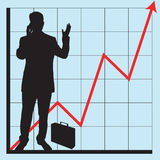Graphs for business use Stock Photography