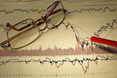 Graphs & Charts royalty free stock photos