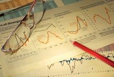 Graphs & Charts Stock Image