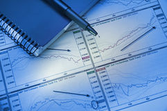 Graphs & Charts stock images