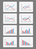 Graphs and Charts Stock Images