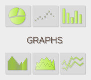 Graphs Stock Image