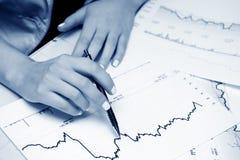 graphs market stock Στοκ εικόνες με δικαίωμα ελεύθερης χρήσης